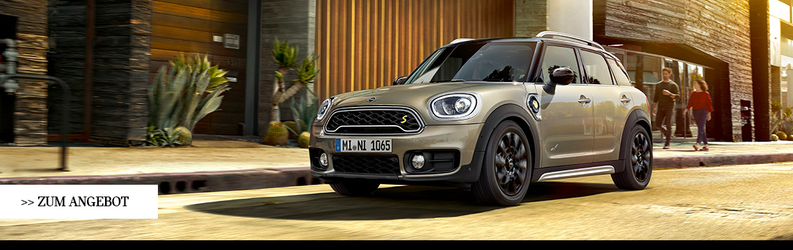DER MINI COUNTRYMAN PLUG-IN HYBRID.